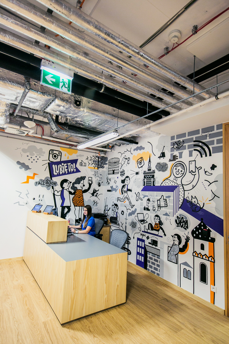 Facebook Poland Office 2016 by Acapulco Studio Office