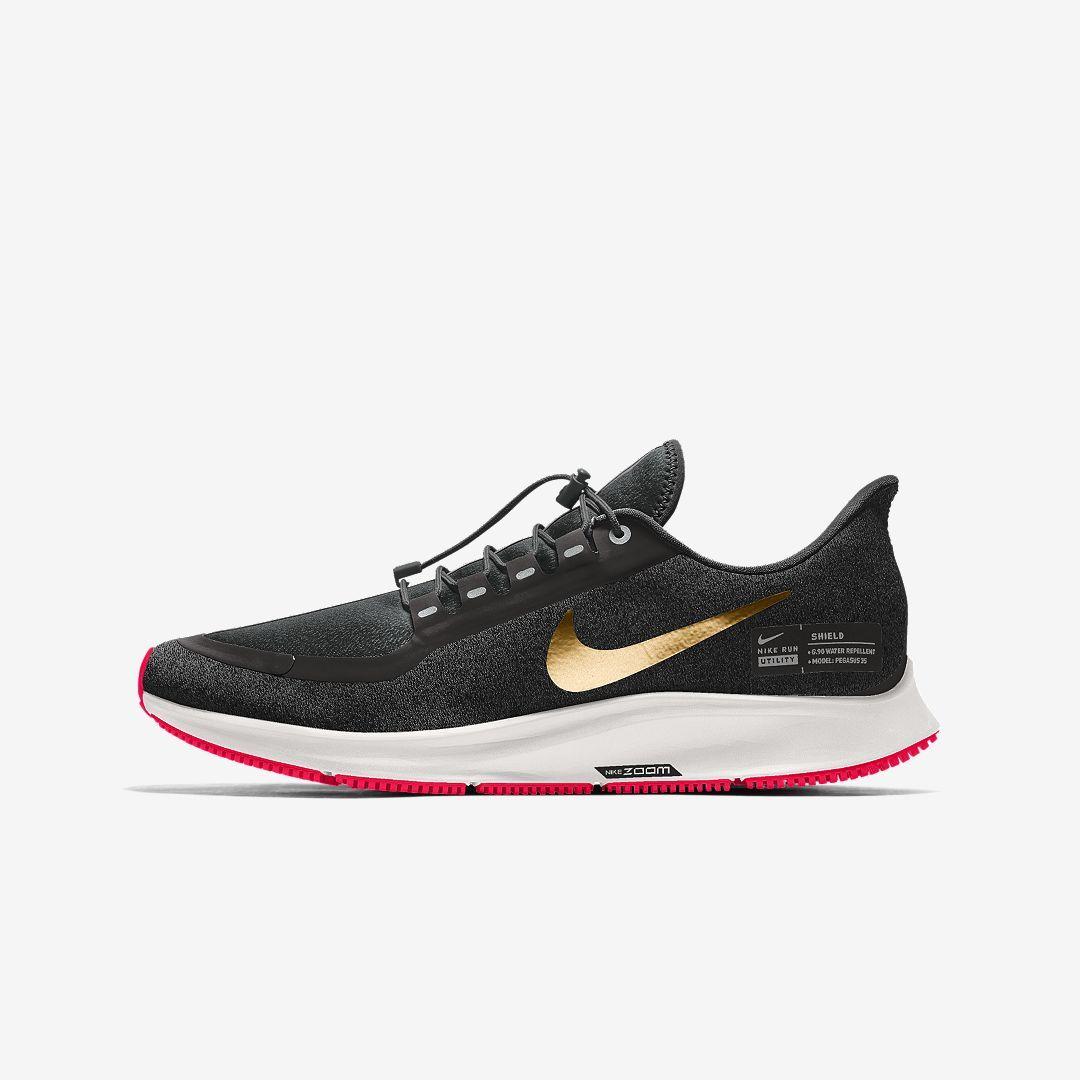 Nike Air Zoom Pegasus 35 Shield By You Women's Running Shoe