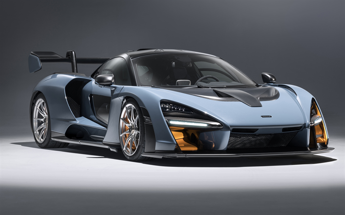Descargar Fondos De Pantalla Mclaren Senna  P Supercar Racing Car