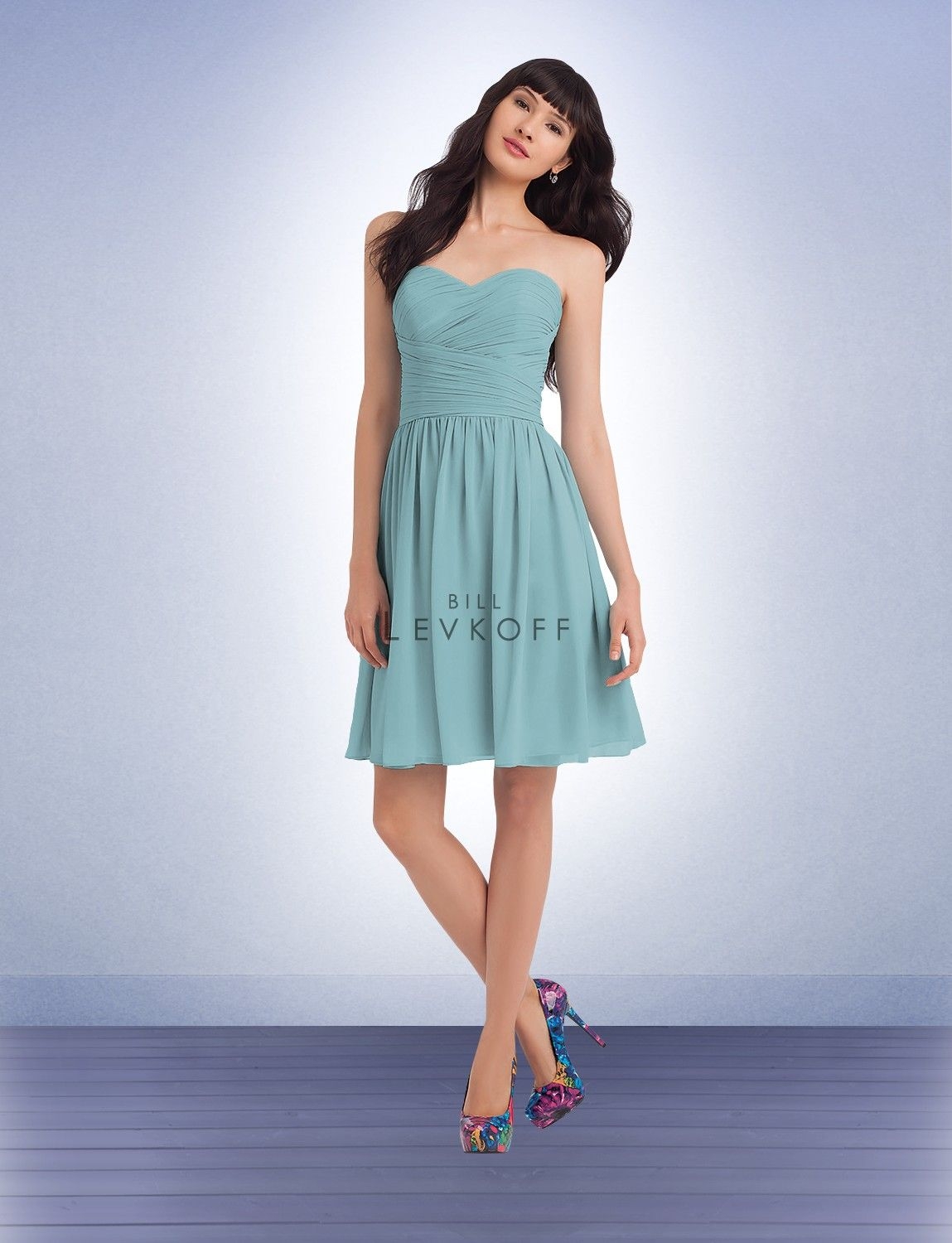 Bill Levkoff Bridesmaid Dress Style 1105 - Debra\'s Bridal Shop at ...