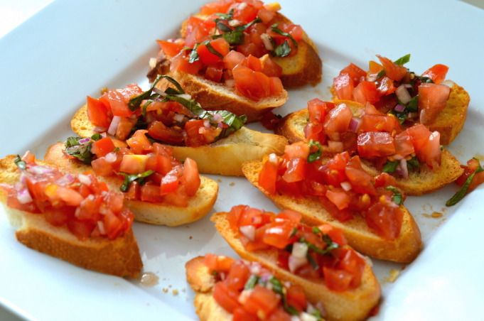 Fresh Bruschetta – Only 40cents Per Serve
