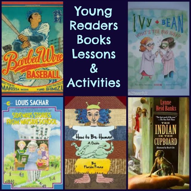 Enjoy our fun comprehensive Young Reader Book Lesson Plans and Hand-on Learning Activities for young readers books.