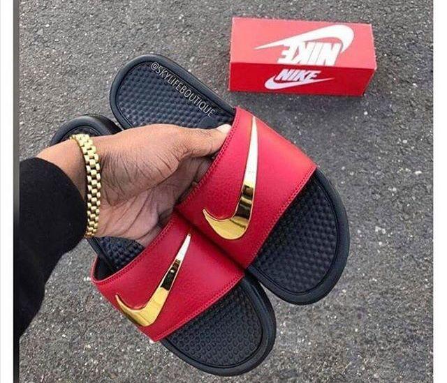 Nike Shoes Golden Swoosh