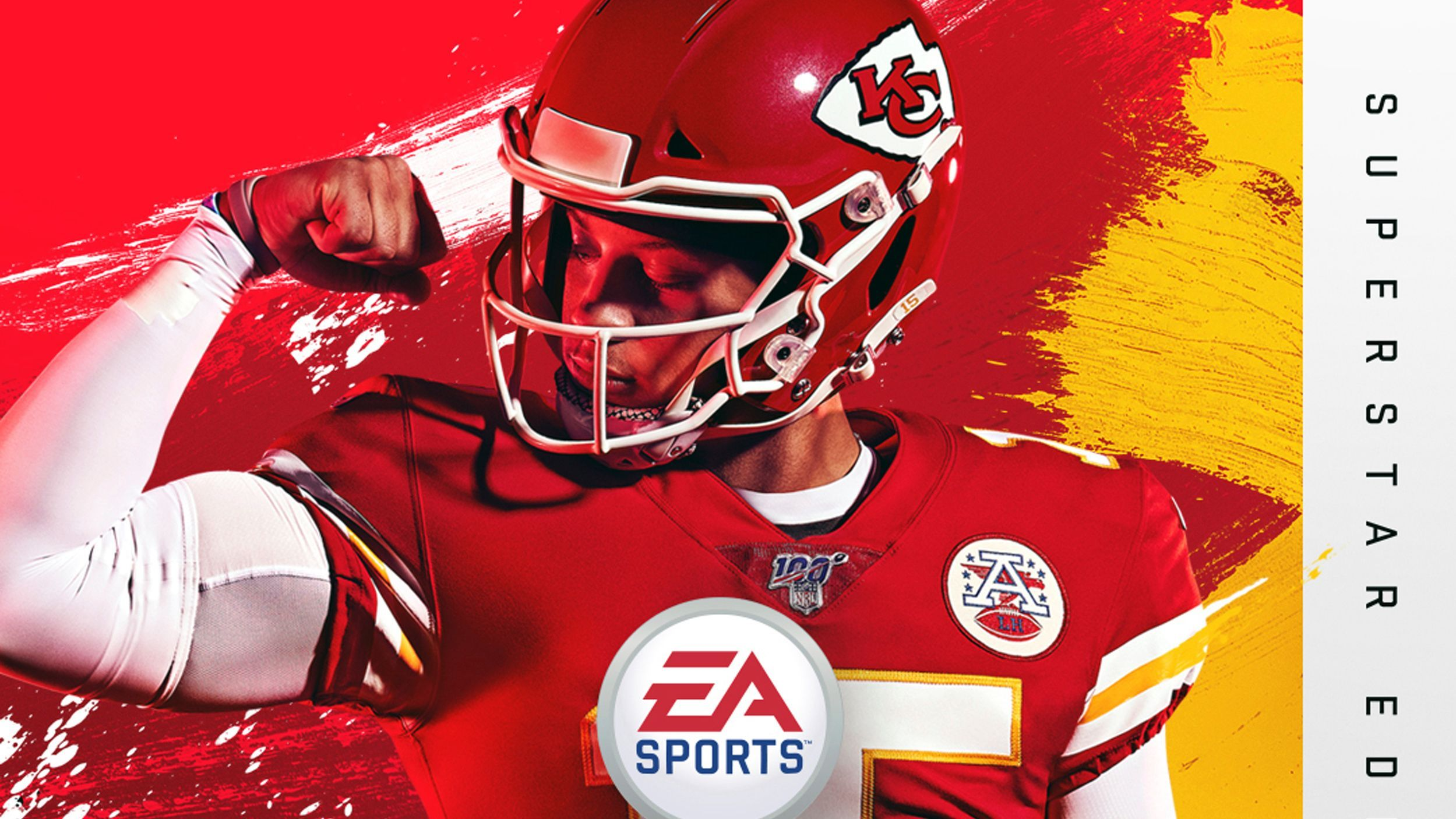 Kansas City Chiefs Qb Patrick Mahomes On Cover Of Madden Nfl 20 Kansas City Chiefs Qb Madden Nfl Nfl