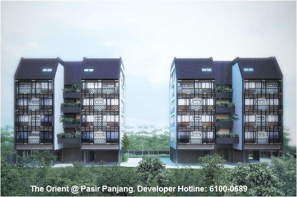 The Orient @ Pasir Panjang. Freehold Condo.