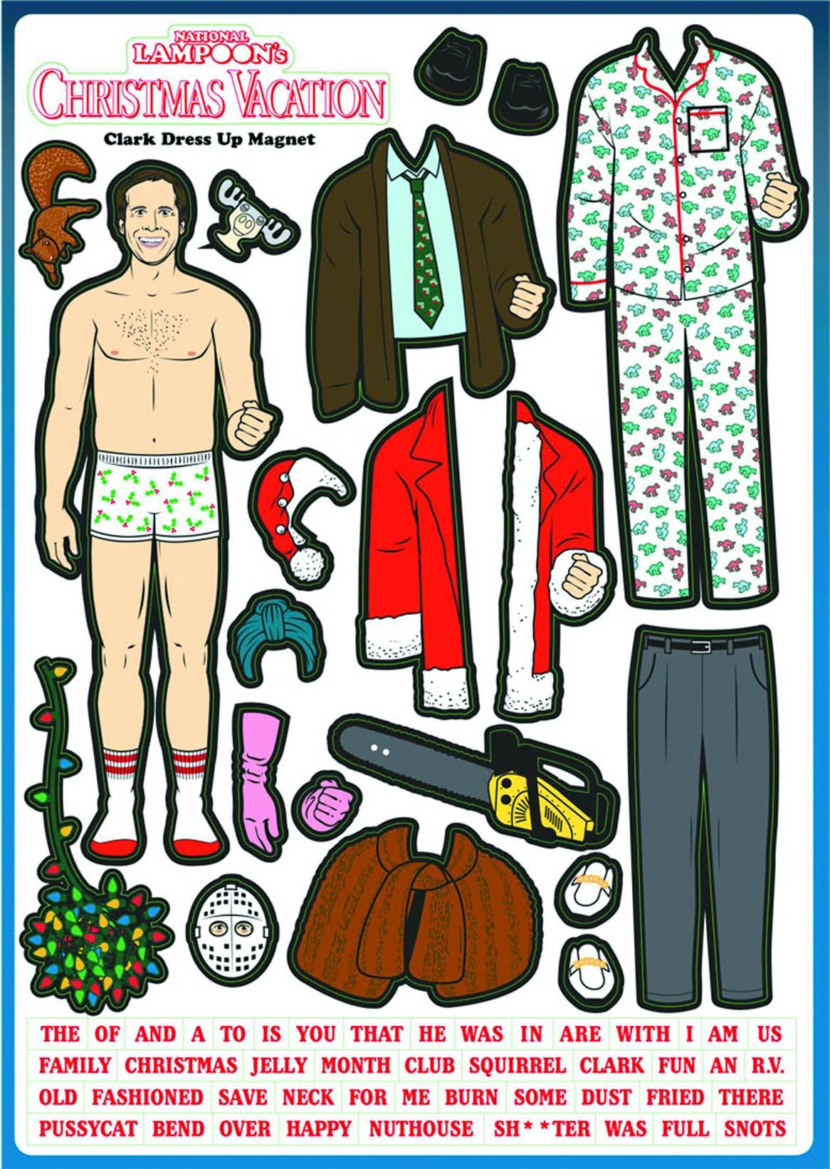 National Lampoon's Christmas Vacation Clark Griswold Dress