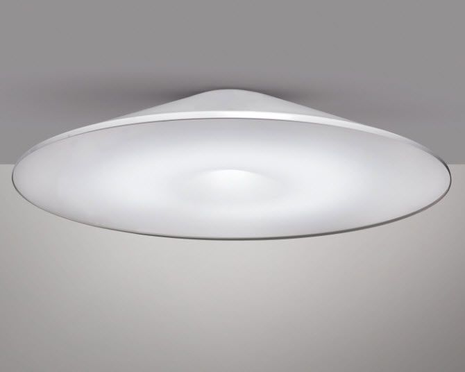 Plafoniera Led Soffitto Rotonda : Plafoniera moderna rotonda alluminio led 66136 6961601.jpg 670×536