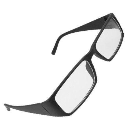 Amazon.com: Unisex Black Frame Arms Full Rim Clear Lens Plano Eyeglasses: Health & Personal Care $5.09