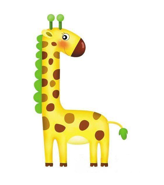 Yellow Giraffe Iron on Transfer T-shirt Transfers 15*21cm