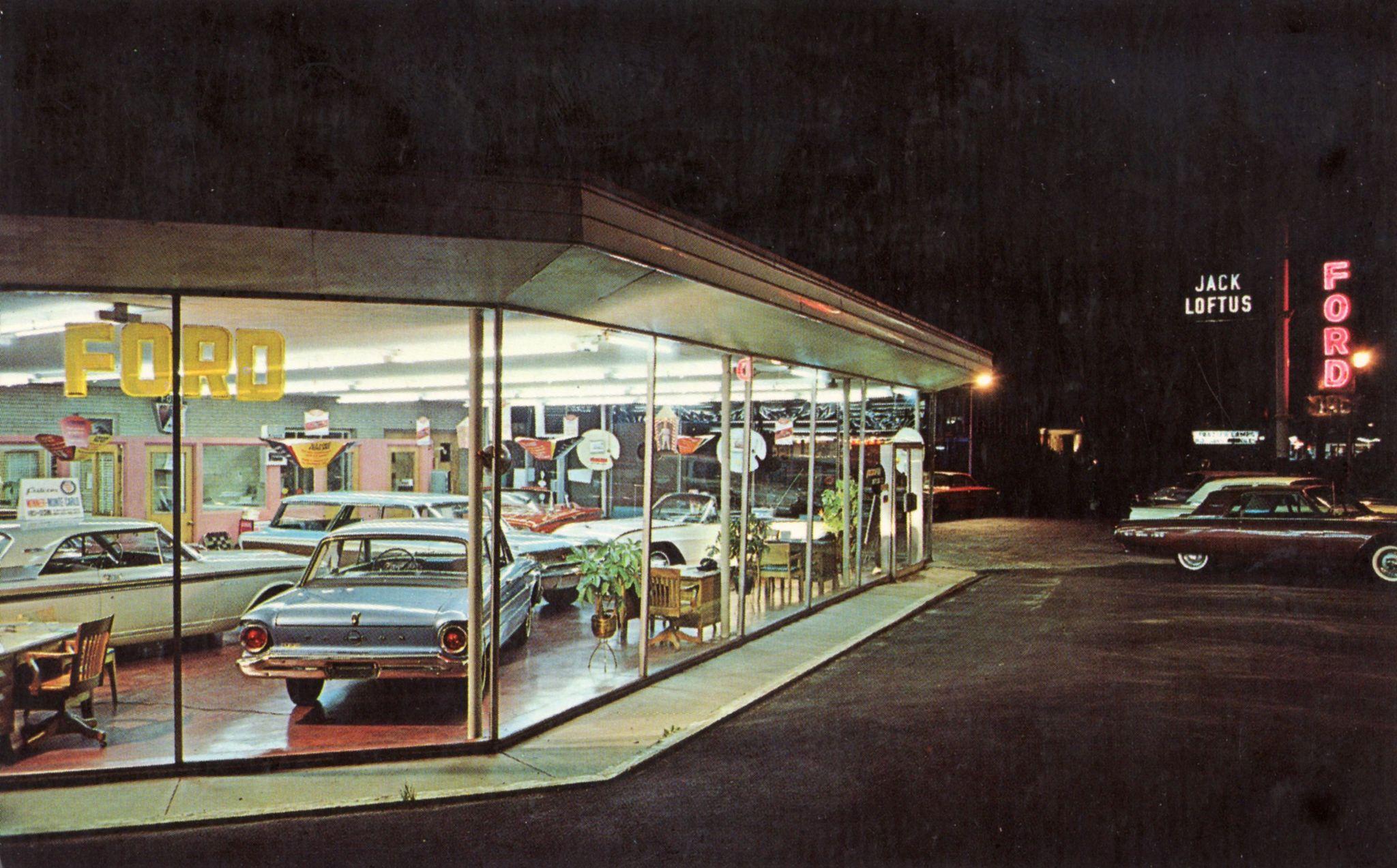 Jack Loftus Ford Hinsdale Il 1963 New Car Smell Car