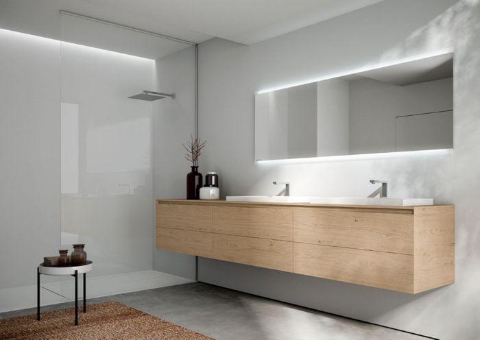 Meuble lavabo salle de bains de design italien par idea for Meuble italien