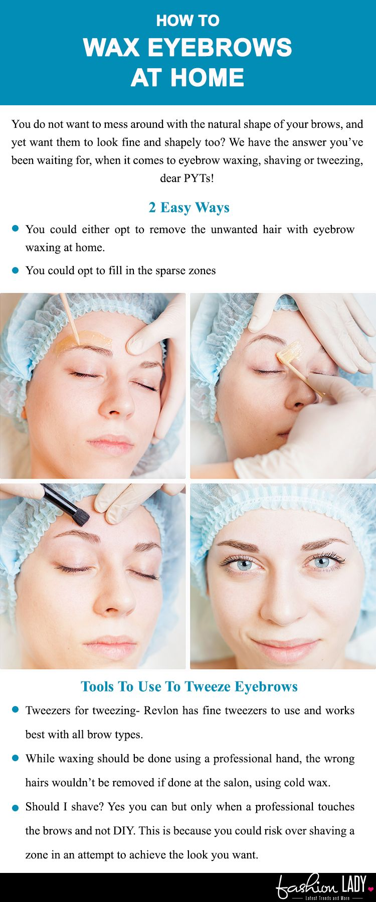 How To Wax Eyebrows At Home Beautician Hacks Unearthed Eyebrow