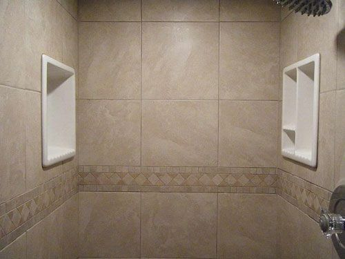 How To Tile A Bathroom Walls As Well As Showertub Area  Tile Glamorous Bathroom Wall Tiles Designs Picture Design Ideas
