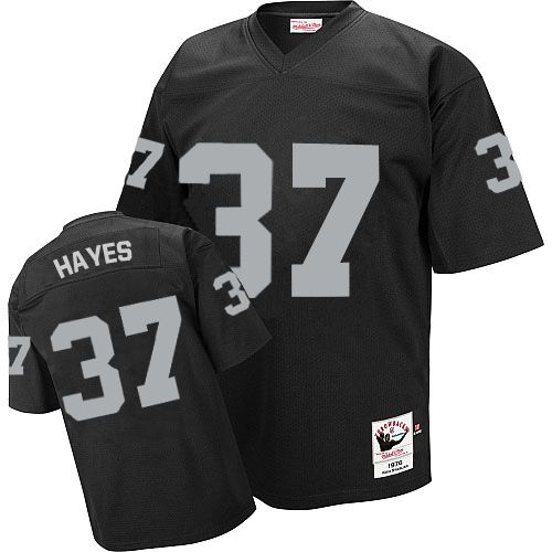 online retailer adb17 fb247 Lester Hayes Men's Authentic Black Jersey: Mitchell and Ne ...