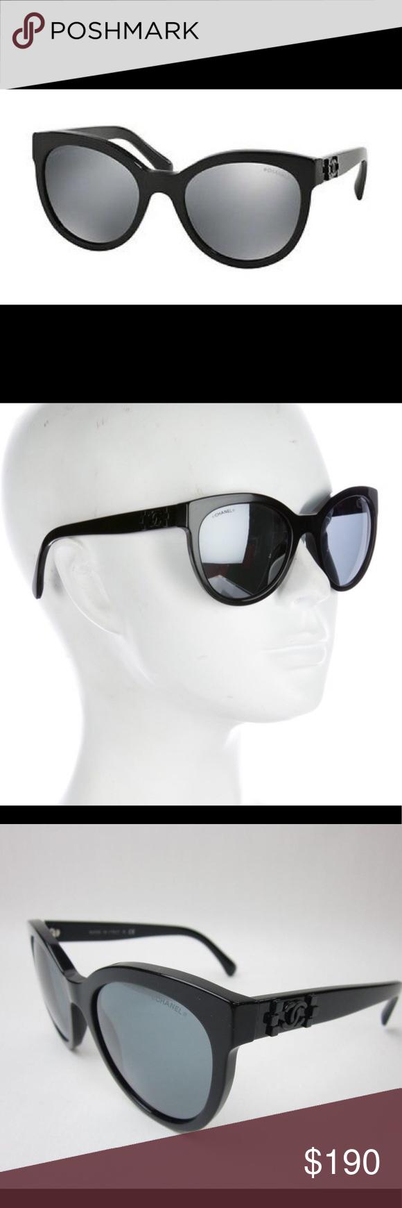7223ba265c79e Chanel Le Boy Brick Sunglasses Chanel Le Boy Brick Sunglasses Black frame