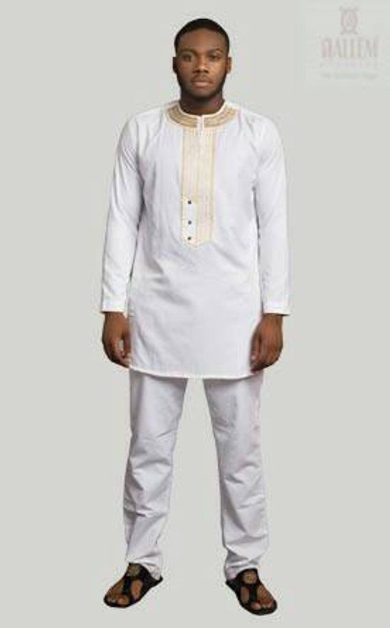 262d26b6ce Off-White African Men Clothing, African Men Clothing, White ...