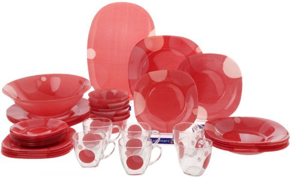 Luminarc Constellation Dinnerware, Set Of 38 Piece DG7319 Price .