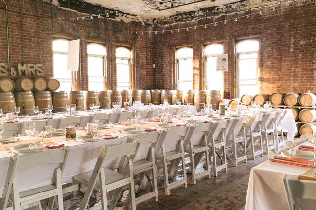 Stylish Brooklyn Distillery Wedding Blake Mackenzie