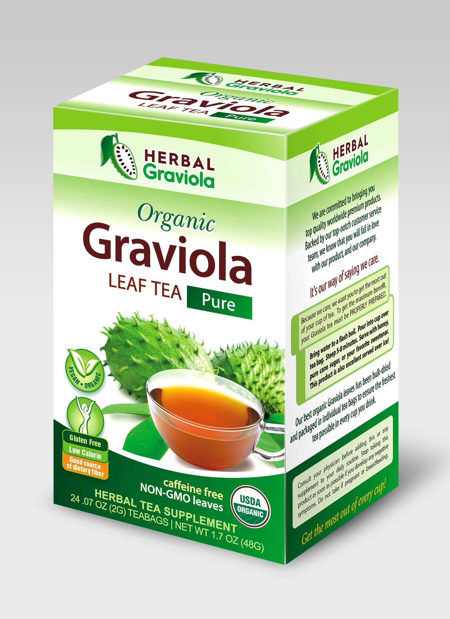 From The Jungles And Caribbean Islands Herbal Graviola Delivers Tree Leaves Also Known As Soursop Or Guanabana Straight To Your Home