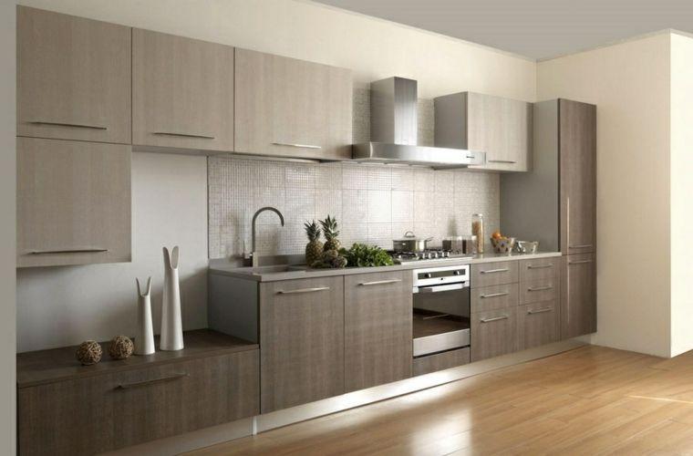 Cocinas modernas baratas para decorar los interiores acogedores