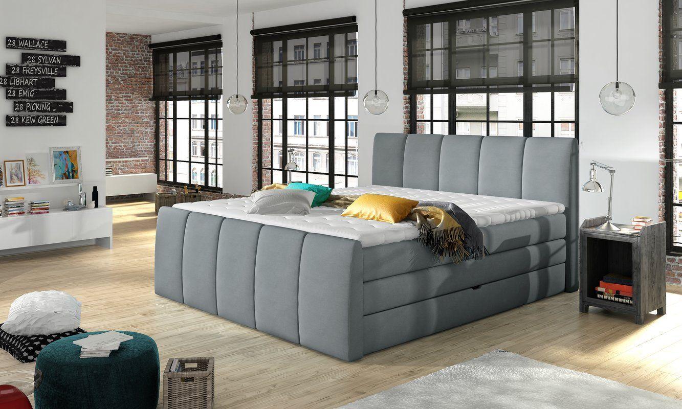 Schwab Upholstered Storage Standard Bed With Mattress Bed Mattress Schwab Standard Storage Upholstered Upholstered Panel Bed Upholstered Storage Furniture