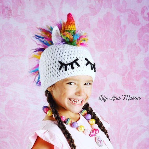4042f728971 Unicorn Hat