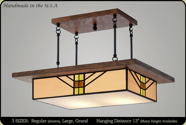 Bungalow Mission Chandelier 603 Dining Room Light Fixtures