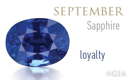 Sapphire Token Of Loyalty Gia 4cs Blog Birthstones Birthday Stone Birth Stones Chart