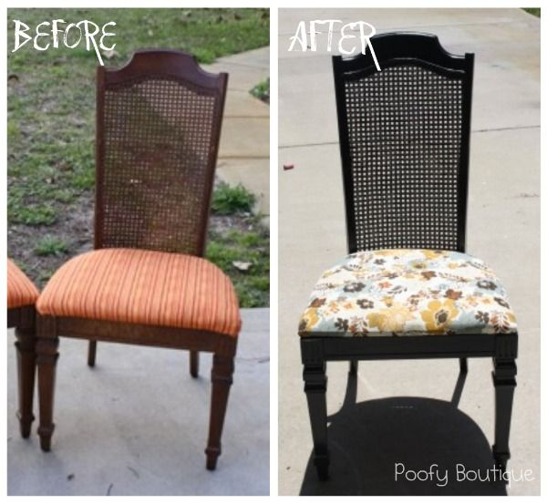 Charmant Poofy Cheeks: Craigslist Chair Redo U2013 Before And After