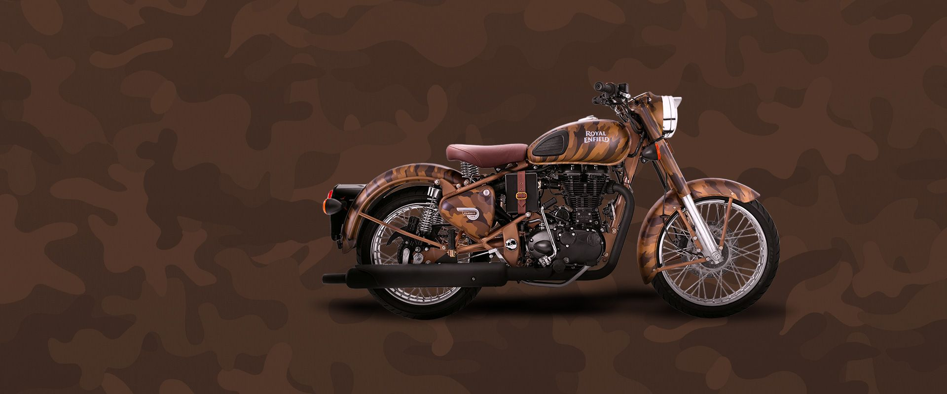 Limited Edition Despatch Motorcycle Bullet bike royal