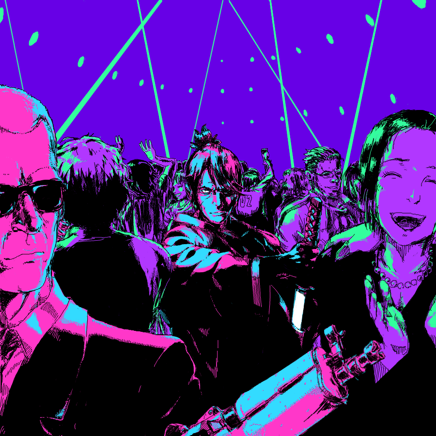 Katana Zero Art From Askisoft In 2020 Katana Art Cyberpunk Art