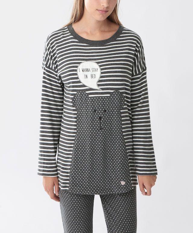 shirt mit b r und tupfen alles anzeigen modetrends des. Black Bedroom Furniture Sets. Home Design Ideas