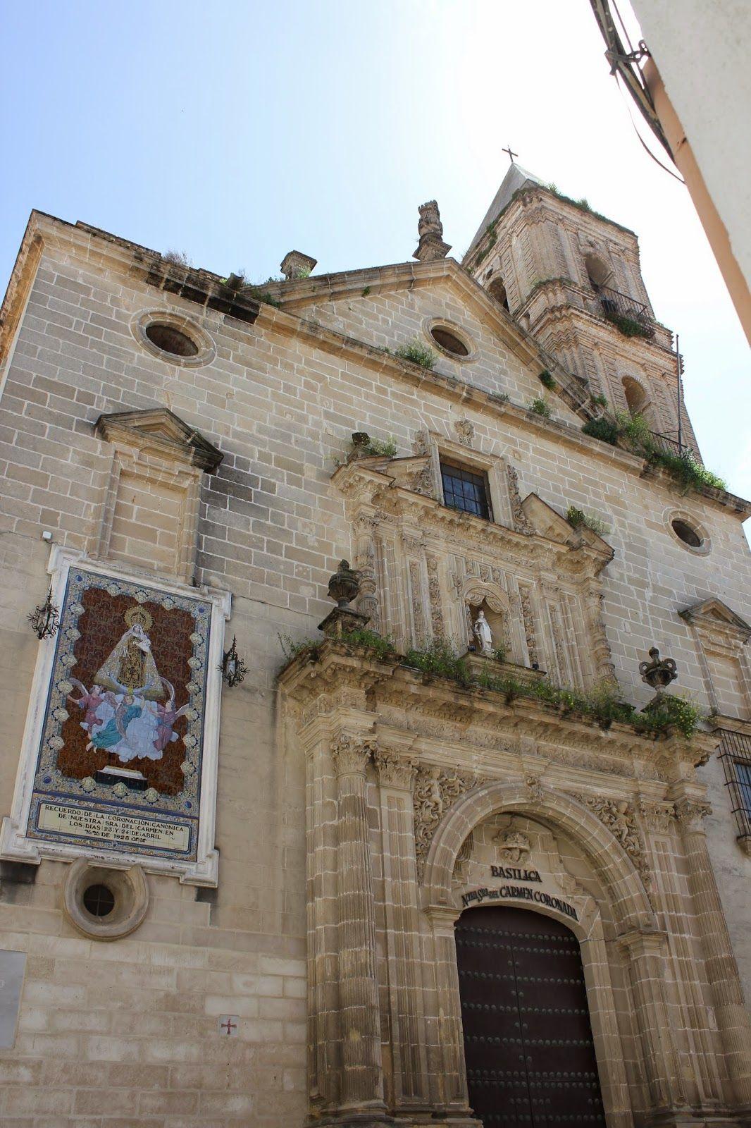 Iglesia De La Virgen Coronada En Jerez De La Frontera