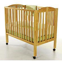 Dream On Me 2 In 1 Portable Folding Convertible Crib