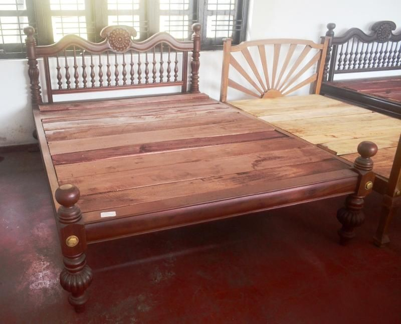 Set Of Four Teak Wood And Cane Lounge Chairs From Colombo Area Of Sri Lanka Chair Wood Chair Teak Wood