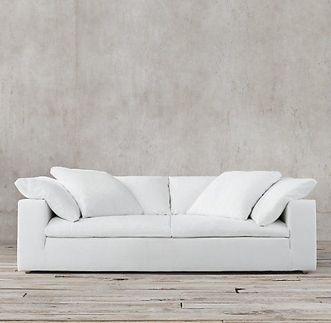 Petite Cloud Track Arm Sofas Rh Cushions On Sofa Sofa