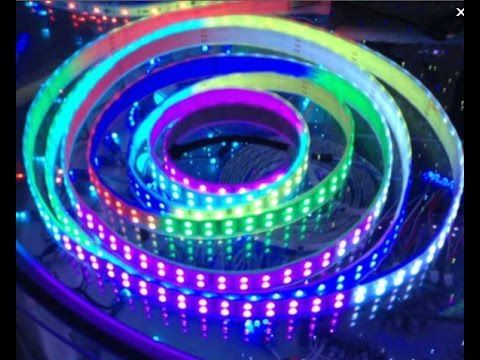Dual row tm1812 ic digital programmable 5050 led strip lights dual row tm1812 ic digital programmable 5050 led strip lights aloadofball