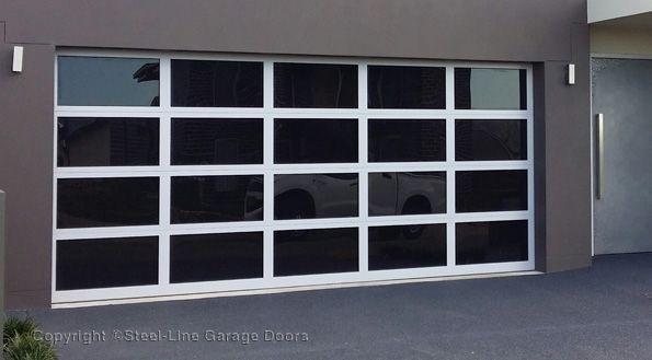 Steel Line Acrylic Garage Door Garage Doors Garage