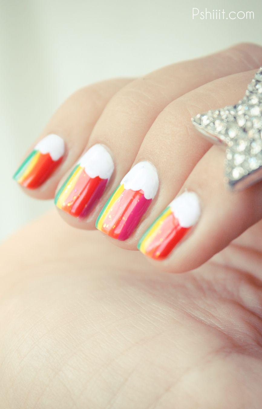 Rainbow nails je retombe en enfance rainbow nails sparkle and tags rainbow nails je retombe en enfance solutioingenieria Choice Image