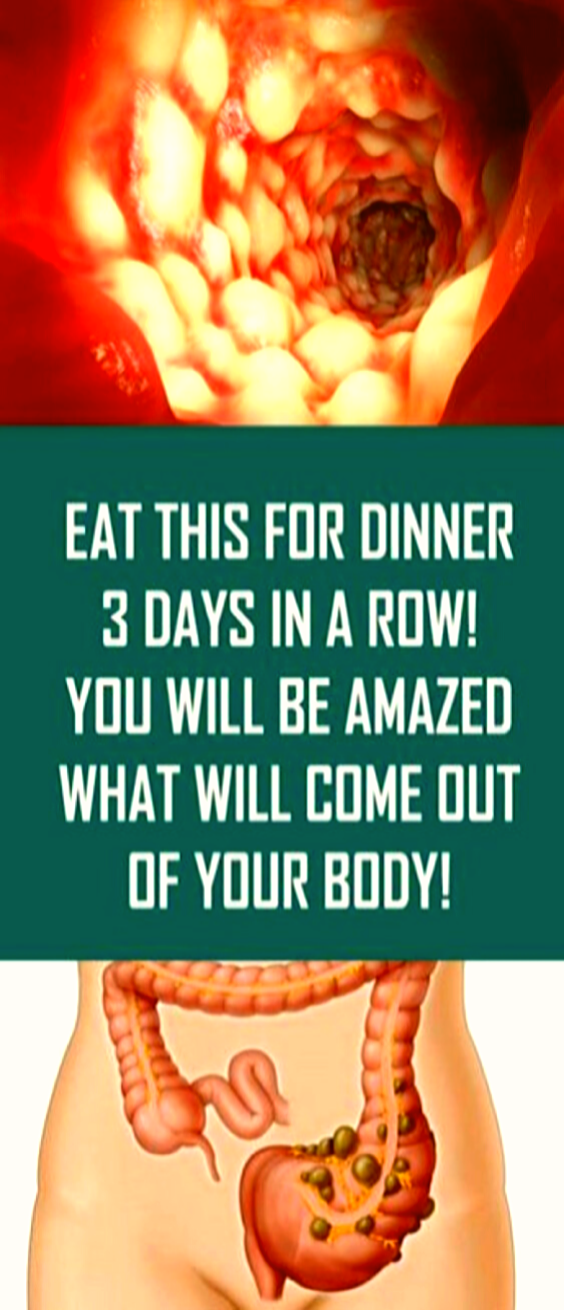 Eat This for Dinner 3 Days in a Row And You Will Be Amazed…