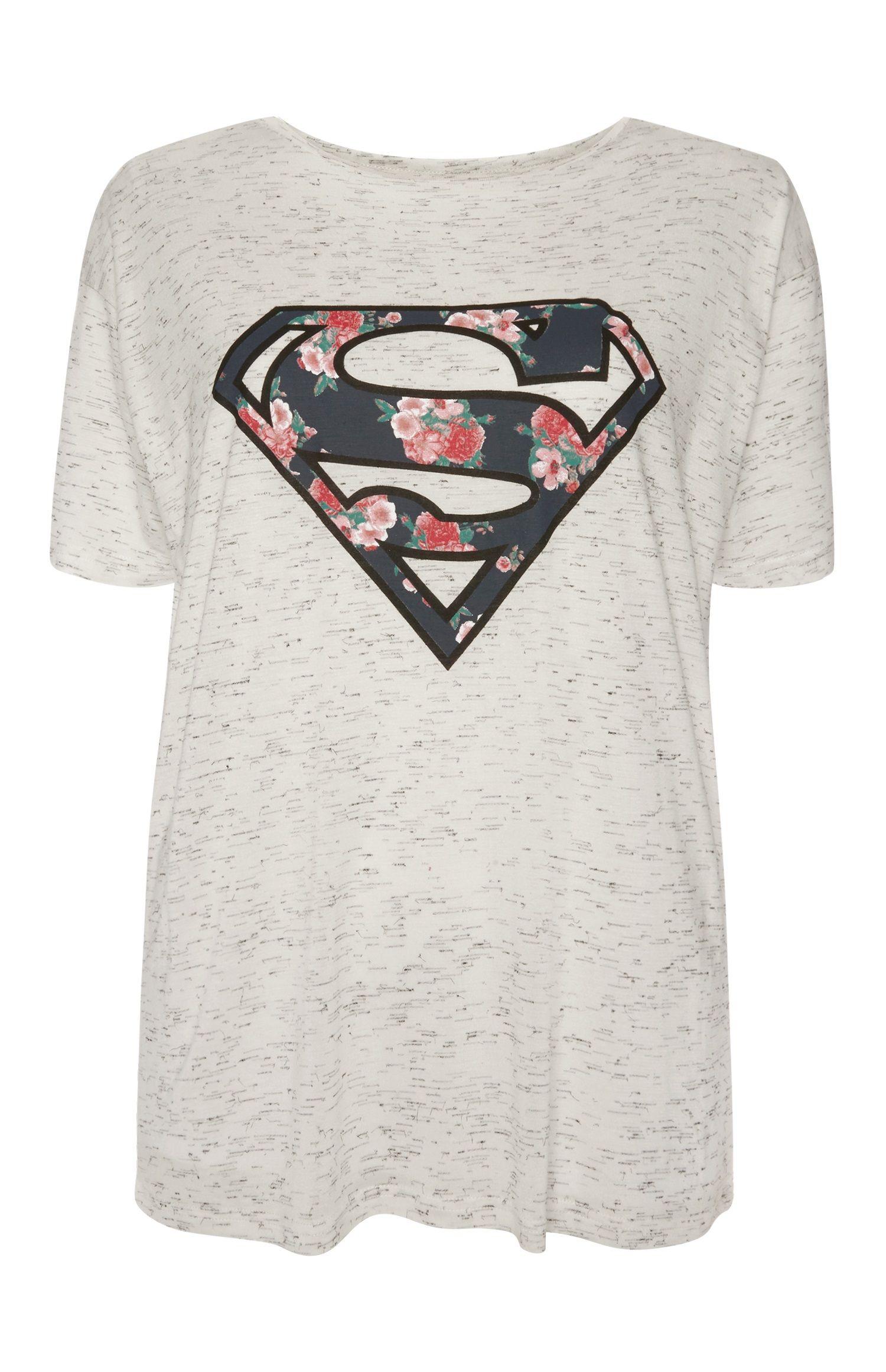 Superman, Conjuntos de Pijama para Hombre, Gris (Lgrey Light Grey), Large DC Comics