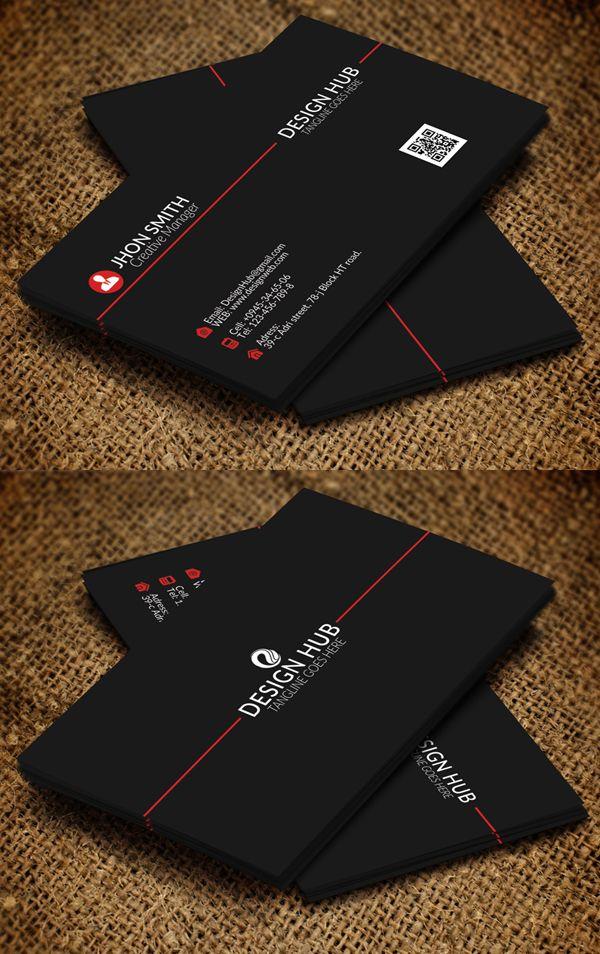 Modern Business Card Psd Templates Design Graphic Design Junction Modern Business Cards Graphic Design Business Card Business Card Template Design