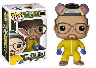 From the hit AMC TV Series, Breaking Bad, it's Walter White Cook ! Funko has given Walter White the vinyl treatment with this Breaking Bad Walter White Cook POP! Figure! Stands 3 3/4 Inch tall. A must have for all Breaking Bad fans! #funko #popvinyl #actionfigure #collectible #WalterWhiteCook