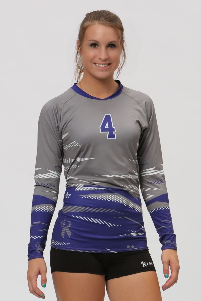 Hologram Women S Sublimated Jersey Volleyball Jerseys Volleyball Outfits Women Volleyball