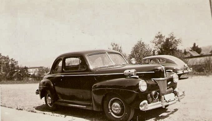 This 1941 Ford Coupe was Marshal Clair Daly's vehicle when he was the Eatonville Marshal in 1942.