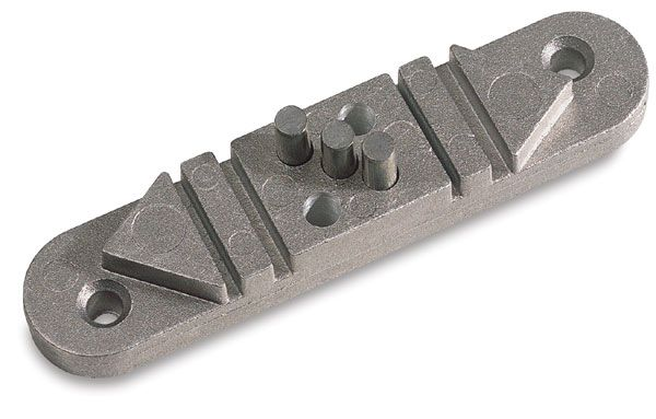 Wire Bending Tool Jewelry Jig Is Made Of Cast Aluminum With Steel Pins