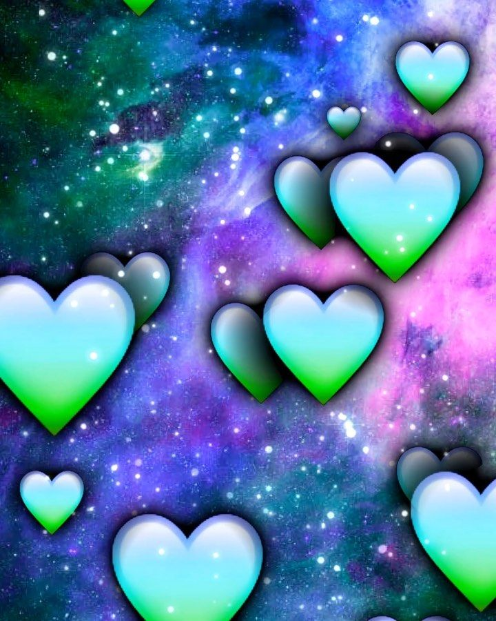 """Overlays on Instagram """"Give credit to colorful hearts"""
