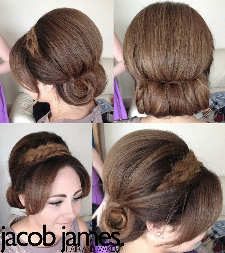 Wedding Hairstyles Diy: Wedding Guest Updo, Wedding