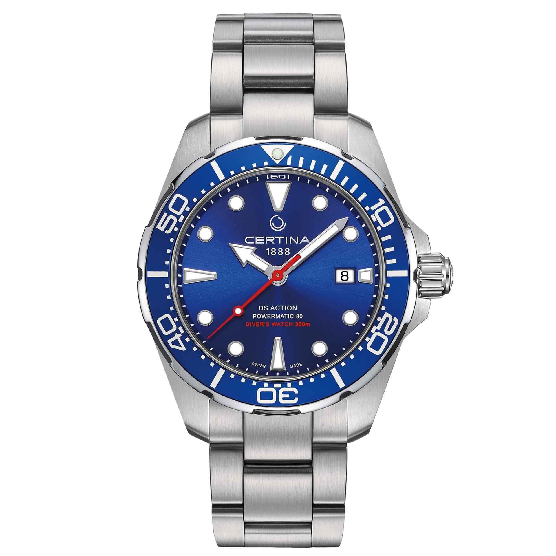 Certina Ds Action Diver Automatic Herenhorloge Horloges Horloge