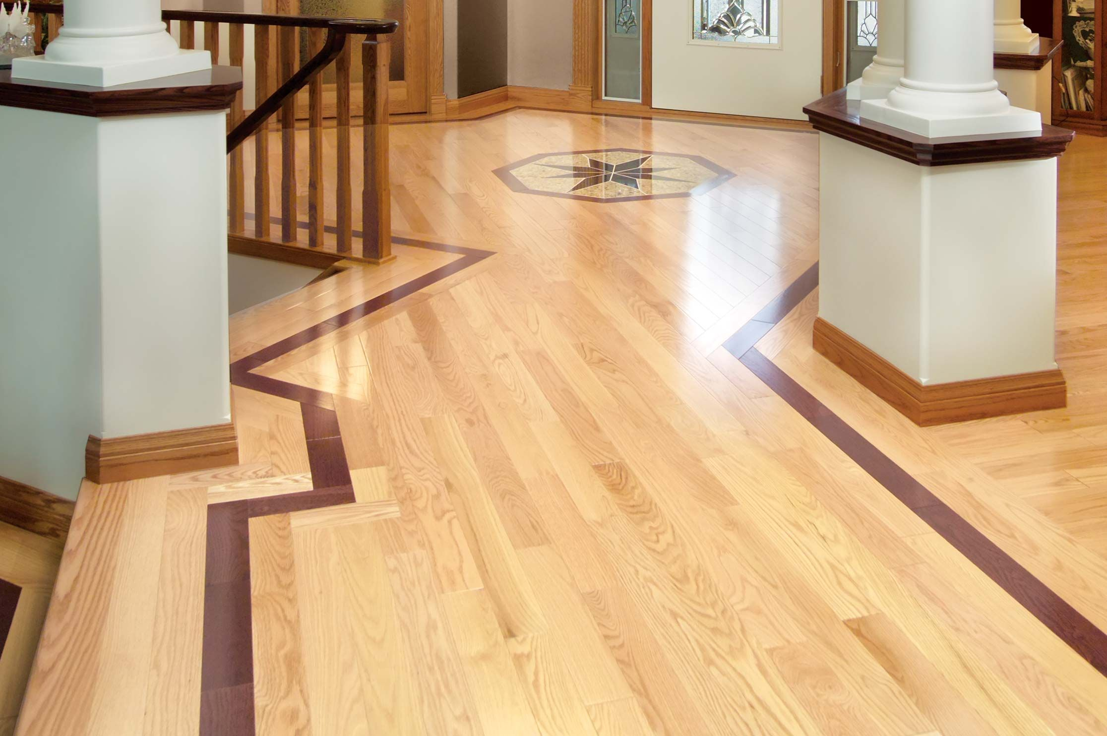 Red oak select better mirage hardwood floors for Mirage hardwood flooring